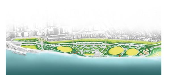 The original re-design of the park. - STUDIO GANG