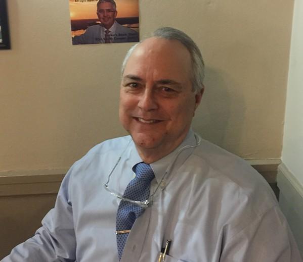 Attorney Steve Farese at LIttle Tea Shop. - MICHAEL DONAHUE