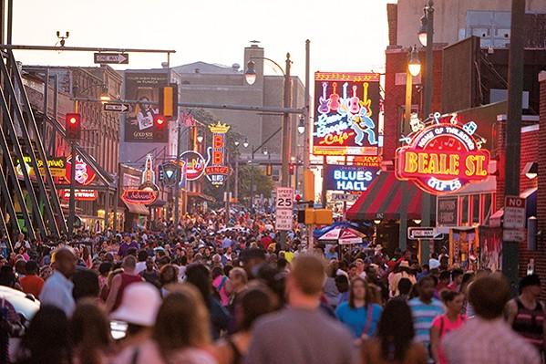 Beale Street remains Tennessee's No.1 tourist destination.