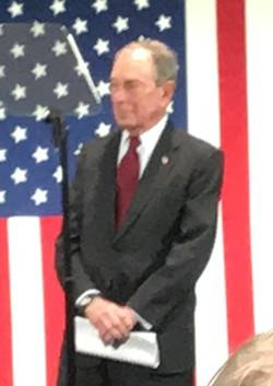 New York Mayor Mike Bloomberg