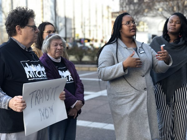 MICAH members gather to support $20 transit fee - MAYA SMITH