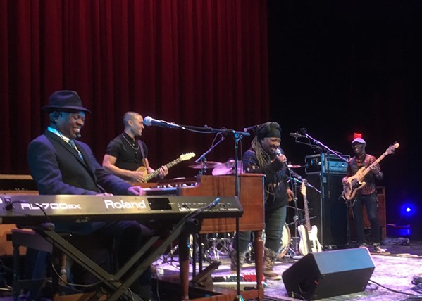 Booker T. Jones and band with Carla Thomas - ALEX GREENE