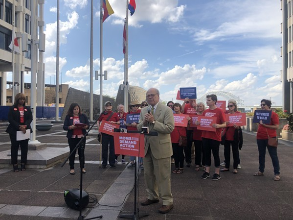 U.S. Rep Steve Cohen joined Moms Demand Action group for control rally in the fall