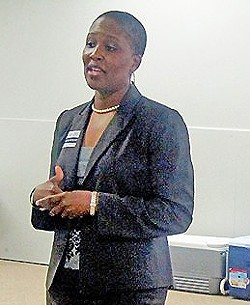Tomeka Hart as congressional candidate in 2012 - JB