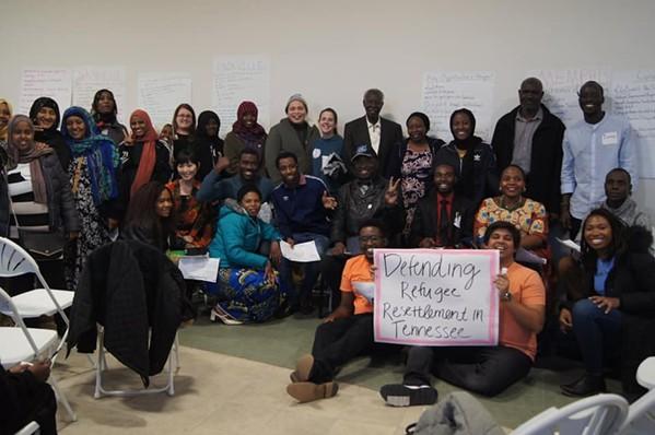 A recent TIRRC event supporting refugee resettlement - TIRRC/FACEBOOK