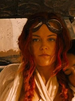 Riley Keough as Capable. Keough is Elvis Presley's granddaughter.