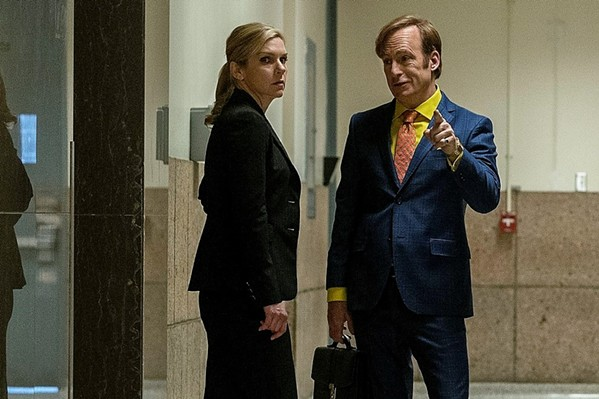 Rhea Seehorn and Bob Odenkirk