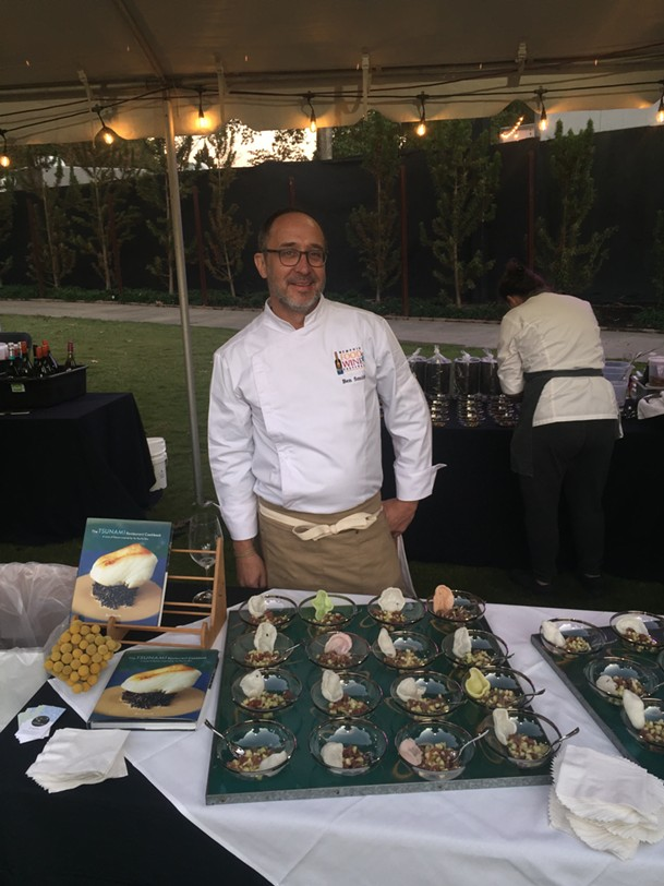 Ben Smith at the 2019 Memphis Food & Wine Festival at Memphis Botanic Garden - MICHAEL DONAHUE
