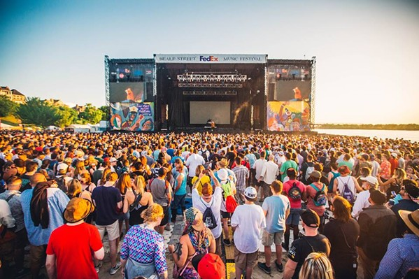 Beale Street Music Festival at Tom Lee Park - MIM/FACEBOOK