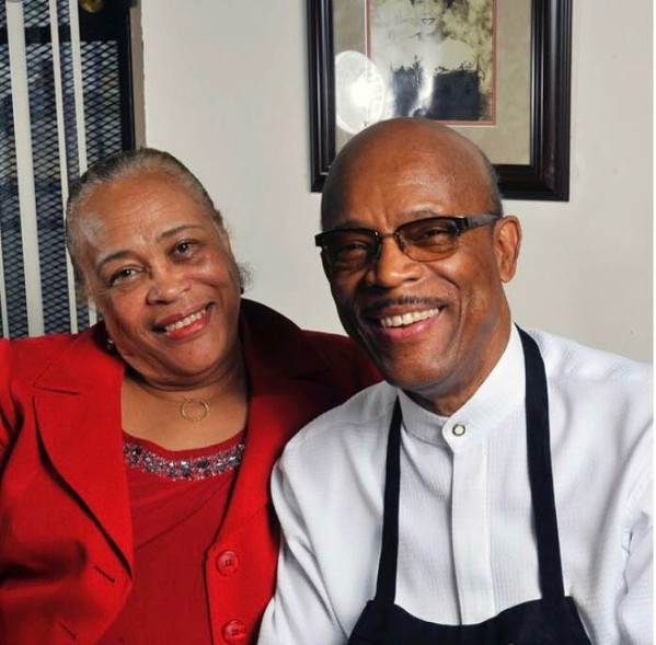 Jo Ellen and Willie Earl Bates at The Four Way Restaurant