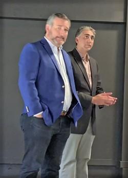 Sethi (r)  with Cruz - JB