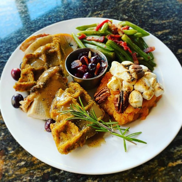 Turkey & Waffles Thanksgiving Special - KING & UNION BAR GROCERY