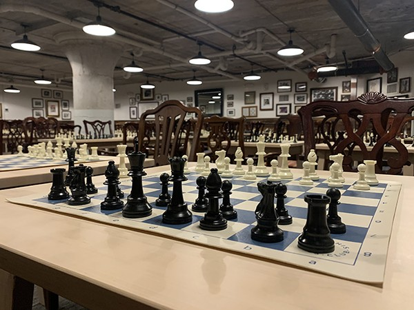 A Memphis Chess Club membership isn't as risky a move as the Queen's Gambit. - SAMUEL X. CICCI