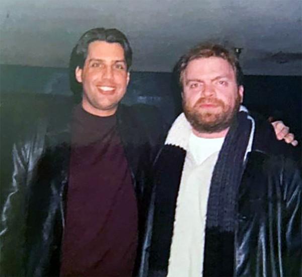 Greg Graber (left) with Chris Jarman - COURTESY GREG GRABER