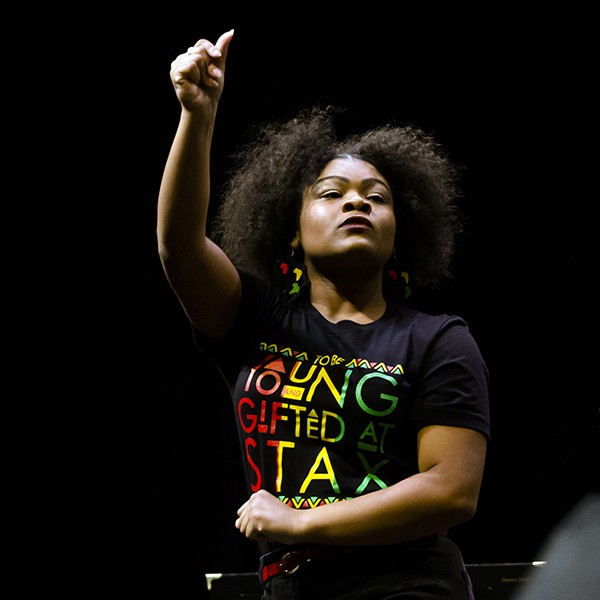 Young Stax Academy performer - COURTESY OF STAX MUSIC ACADEMY