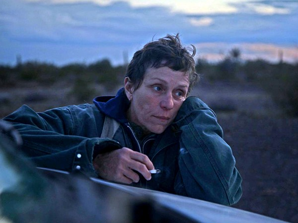 Frances McDormand plays Fern in Chloé Zhao's Nomadland, based on the 2017 book by Jessica Bruder.