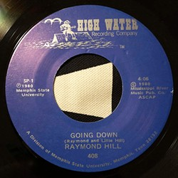 """Hill's """"Going Down"""" from High Water Records - COURTESY BLUE T.O.M. RECORDS"""