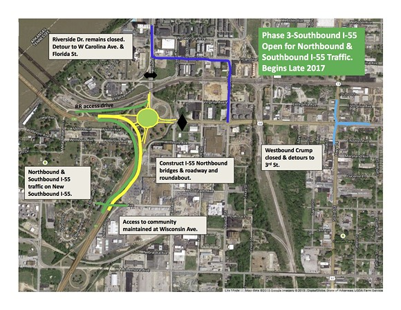 Phase 3 of TDOT's I-55 interchange plan. - TENNESSEE DEPARTMENT OF TRANSPORTATION