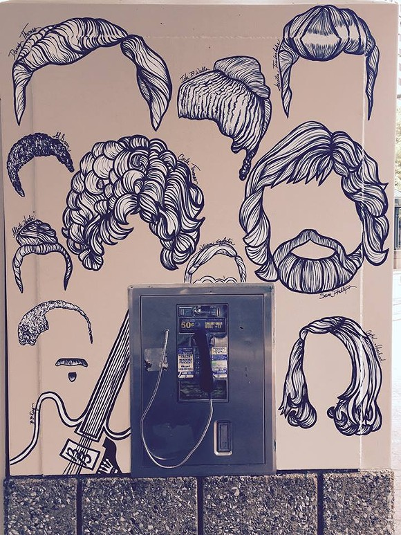 """A Downtown mural titled """"Memphis Hairstory."""""""