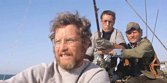Richard Dreyfuss, Roy Scheider, and Robert Shaw