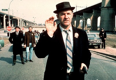 "GENE HACKMAN IN ""THE FRENCH CONNECTION"""