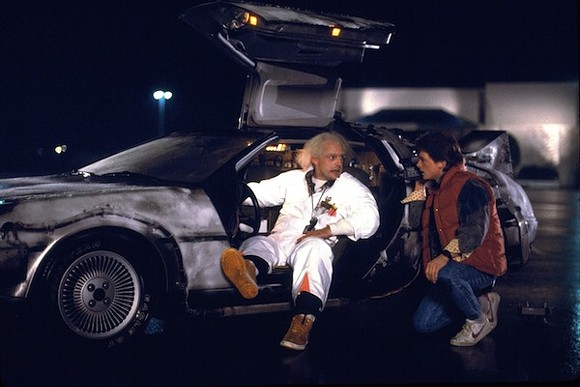 The most stylish time machine ever built.