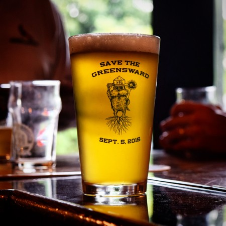 """Memphis Made's """"Greenswarden"""" hefeweizen will be served at Saturday's Party for the Greensward. - JOHN KLYCE MINERVINI"""