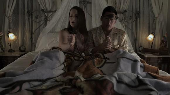 Director Kathleen Davison (left) and Chris Chee (right) star in the On Location: Memphis award winning film Primrose Lane