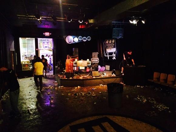 Hi-Tone, 3 AM, Saturday night after Gonerfest. - CHRIS MCCOY