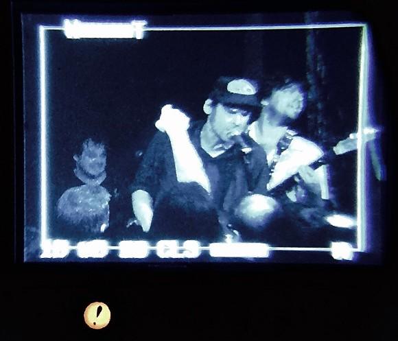 Jack Oblivian through the Rocket Science Audio viewfinder. - CHRIS MCCOY