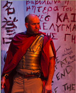 Greg Boller as Titus Andronicus.