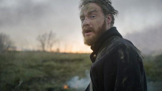 Timothy Morton in Men Go To Battle