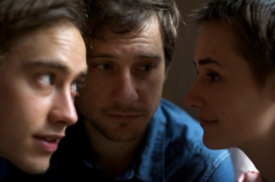 Olly Alexander, Kentucker Audley, and Joslyn Jensen in Funny Bunny