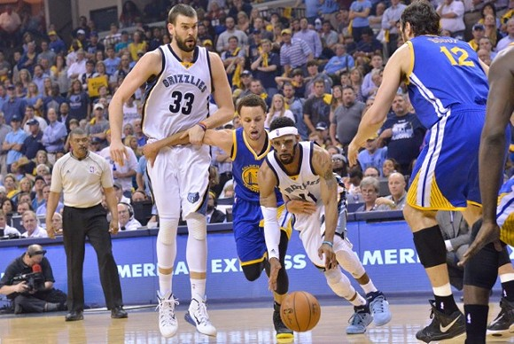 Mike Conley may not be in a mask anymore, but the Grizzlies will need the intensity of last year's playoff series to win Wednesday night. - LARRY KUZNIEWSKI