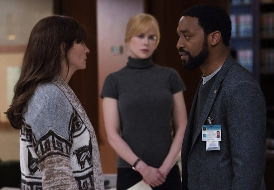 Julia Roberts, Nicole Kidman, and Chiwetel Ejiofor try to figure out what the hell is going on in Secret In Their Eyes