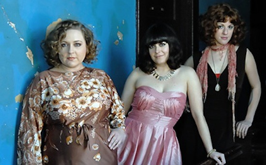 The Memphis Dawls (left to right) Jana Missner, Holly Cole, and Krista Wroten Combest