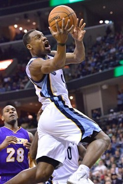 Kobe Bryant vs. Tony Allen is always a big deal, but last night it wasn't quite what it used to be. - LARRY KUZNIEWSKI