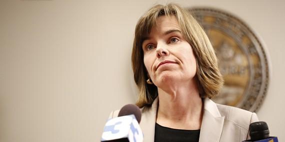 Shelby County District Attorney Amy Weirich. - JUSTIN FOX BURKS