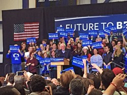 Bernie and friends at Portsmouth: This about says it. - JB