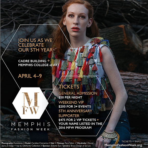 This April, Memphis Fashion Week will be celebrating its 5th year of  bringing together the local fashion community. The full week of events  returns to some ...
