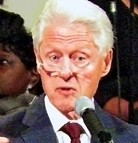 Bill Clinton in Memphis last year - JB