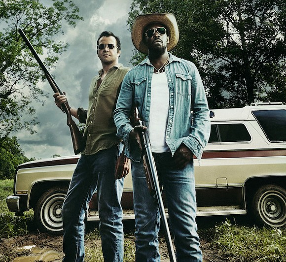 James Purfoy and Michael Kenneth Williams as Hap and Leonard.