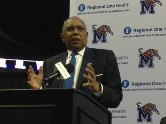 Frank Murtaugh - TUBBY SMITH AT UM PRESS CONFERENCE