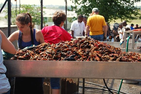 Rajun Cajun Crawfish Festival