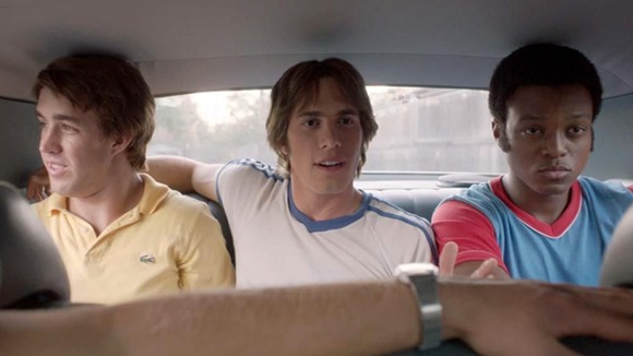 Temple Baker, Blake Jenner, and J. Quinton Johnson bro it up in Everybody Wants Some!!