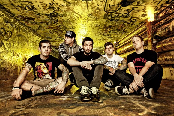A Day to Remember plays Minglewood Hall this Friday, May 6th.