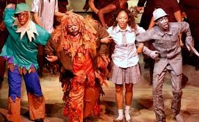 A shot from the Hattiloo''s first production of The Wiz.
