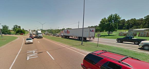 Lamar close to Holmes Road. - GOOGLE MAPS