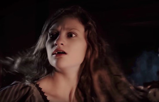 """Haley Parker as Lulu in the trailer for Rachel Taylor's short film """"Solus""""."""