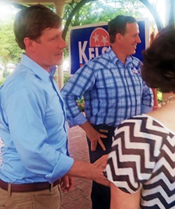 Kelsey and Santorum in Collierville - JB